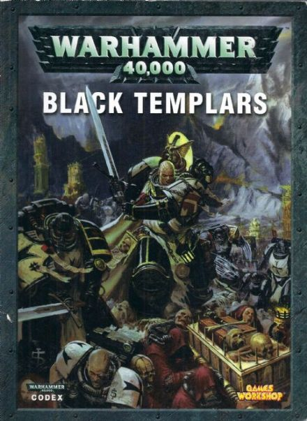 Black Templar Codex rulebook 2005